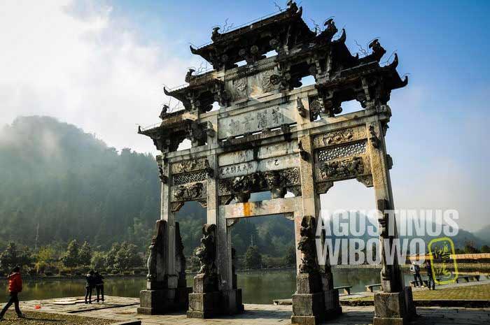 Pintu gerbang Xidi (AGUSTINUS WIBOWO)