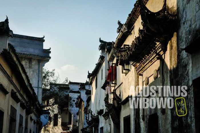 Betapa makmurnya para pedagang Anhui yang membangun desa ini ratusan tahun silam (AGUSTINUS WIBOWO)