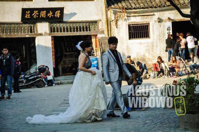 Bangunan kuno di sini merupakan destinasi favorit untuk lokasi foto pernikahan (AGUSTINUS WIBOWO)