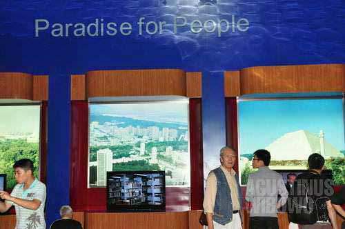 "North Korean pavilion in World Expo Shanghai 2010, ""Paradise for People"" (Agustinus Wibowo)"