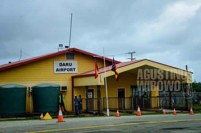 Bandara Daru (AGUSTINUS WIBOWO)