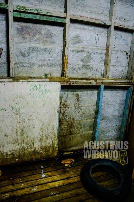 Tempat pispis dan mandi, di sudut ruangan (AGUSTINUS WIBOWO)