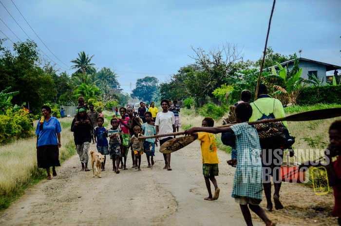 Masyarakat Papua Nugini bisa hidup tanpa uang, karena sistem wantok (AGUSTINUS WIBOWO)