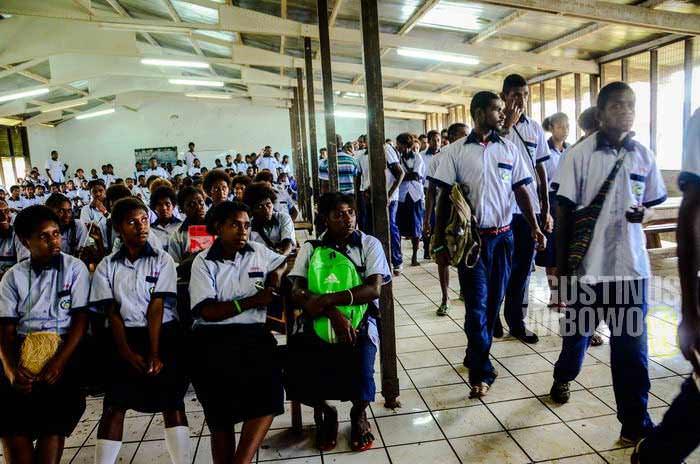 Mereka ingin pendidikan yang lebih baik (AGUSTINUS WIBOWO)