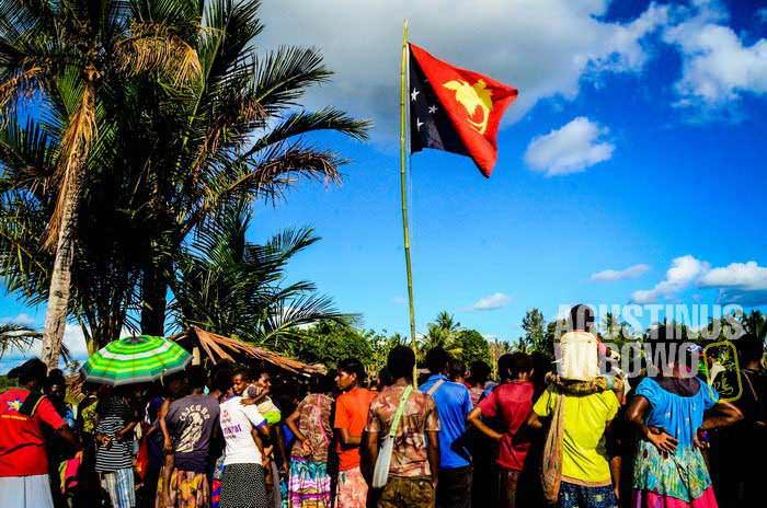 Hari kemerdekaan Papua Nugini dirayakan dua minggu penuh (AGUSTINUS WIBOWO)