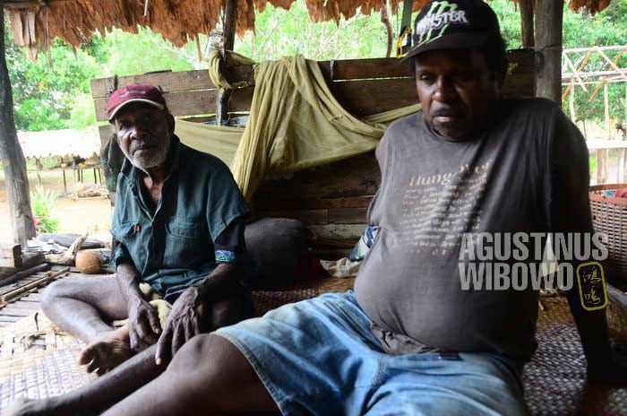 Nabaiya Yawane dan Singai Suku, membagikan sebuah cerita rahasia (AGUSTINUS WIBOWO)
