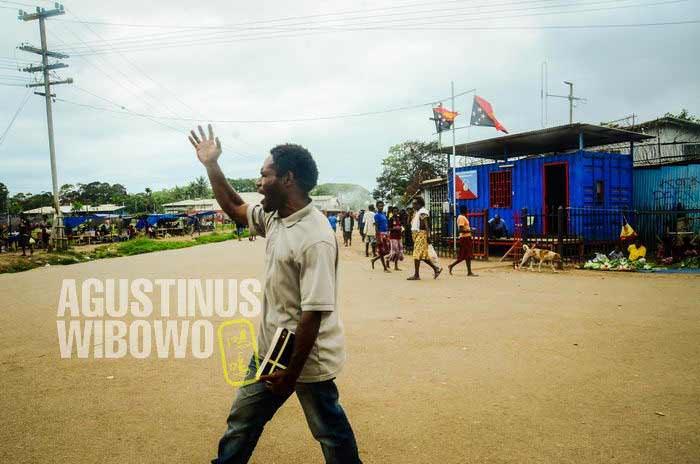 Misionaris menyebarkan Kabar Baik setiap hari di tengah jalanan kota (AGUSTINUS WIBOWO)