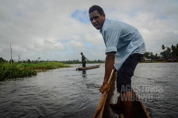 Orang Mandobo berasal dari wilayah Indonesia