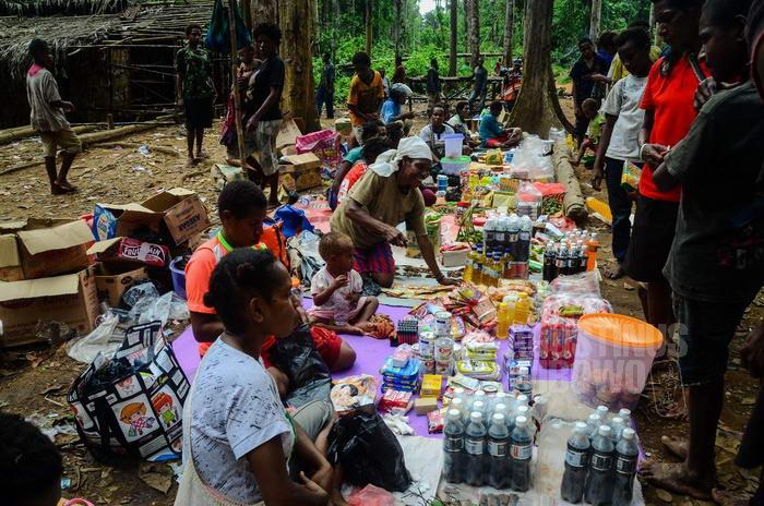 Para perempuan Papua kini bisa berdagang