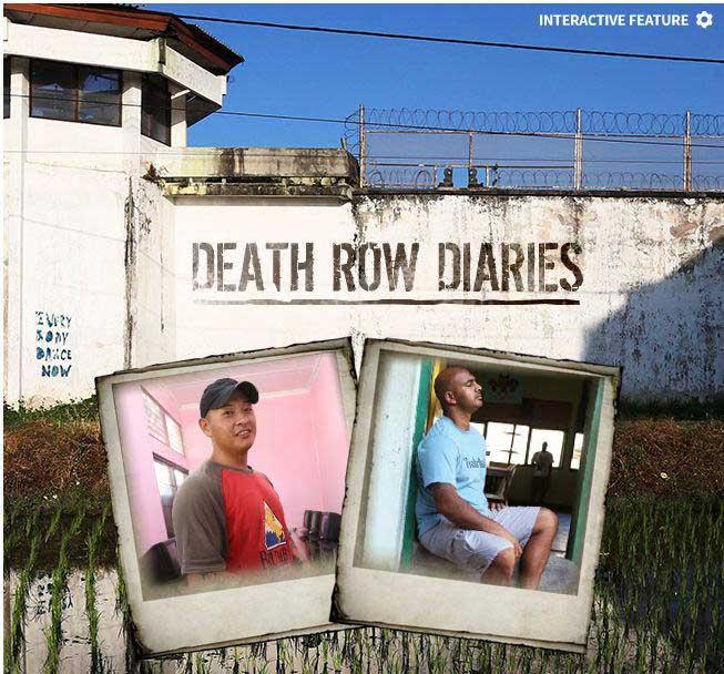Death Row Diaries of Andrew Chan and Myuran Sukumaran (source: news.com.au)