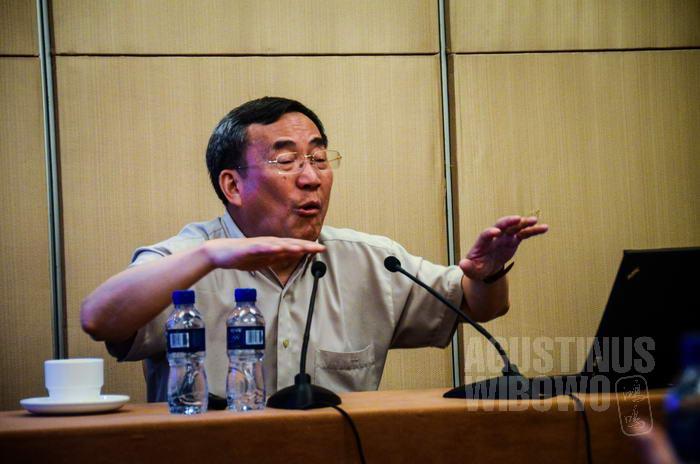 Profesor Ge Jianxiong, pakar sejarah terkemuka di China.