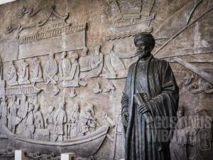 Ibn Battuta pernah menyusuri Jalur Sutra Laut dari Arab sampai ke Quanzhou di China