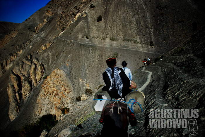 Perjalanan berbahaya menuju Pamir