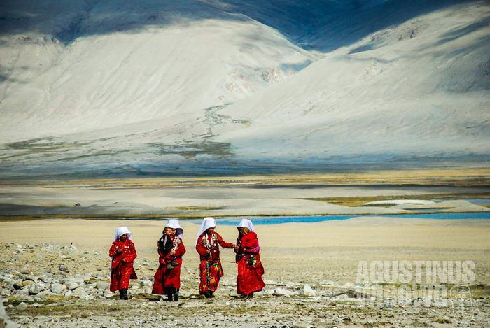 Pamir adalah tanah datar yang terletak di pegunungan tinggi atap dunia