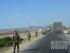 Patroli tentara Kirgiz di daerah perbatasan Tajikistan.