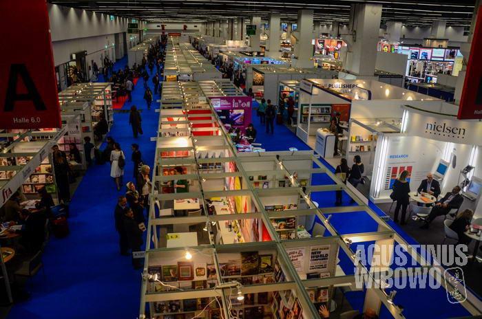 Frankfurt Book Fair adalah ajang bisnis perbukuan terbesar di dunia