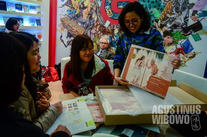 Buku ilustrasi dan buku anak termasuk katagori buku Indonesia yang paling banyak dicari penerbit luar.