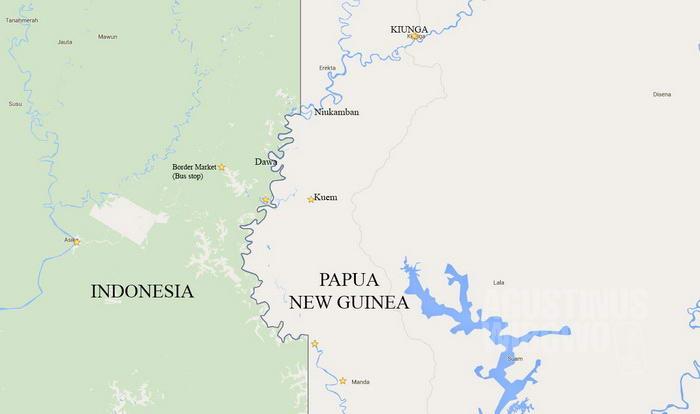 Kiunga 29 September 2014 Pengungsi Papua Merdeka Agustinus Wibowo