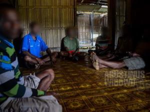 Para pengungsi sekaligus pejuang OPM di Dome