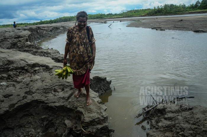 Sungai beracun akibat aktivitas pertambangan