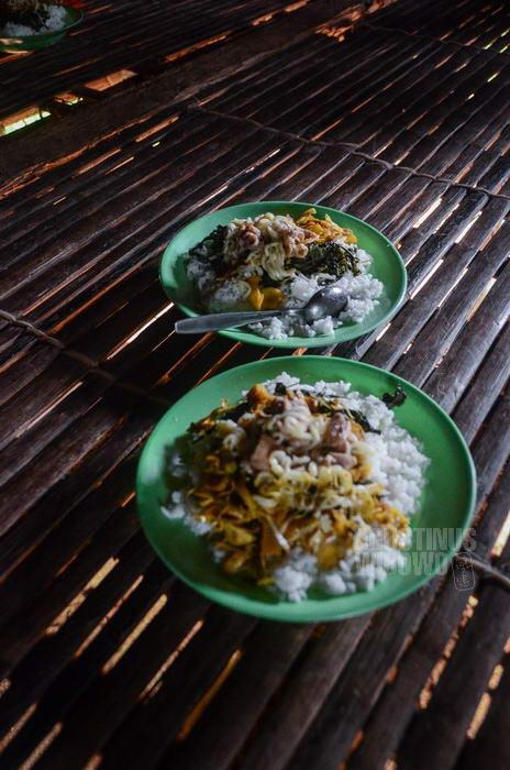 "Makanan para pengungsi sangat ""Indonesia"""