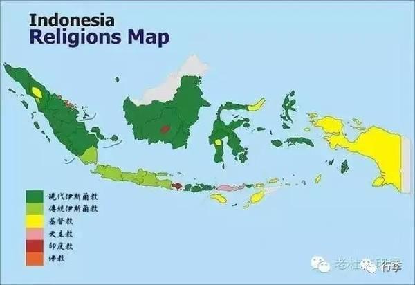 ▲因为没有实行统一的宗教,印尼并非一个宗教国家,但又并非世俗国家,因为所有人都有自己的宗教信仰,只是可以信仰不同宗教。