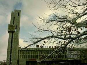 Pusat kota Bishkek (AGUSTINUS WIBOWO)