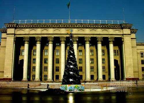 Almaty bergelimang kemakmuran (AGUSTINUS WIBOWO)
