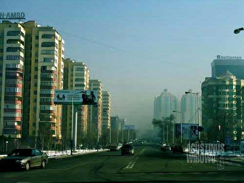 Almaty menuju gerbang negeri modern (AGUSTINUS WIBOWO)