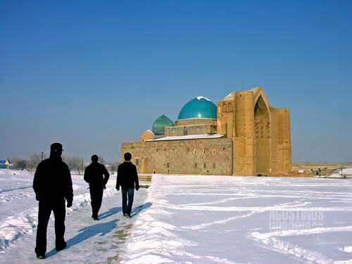 Perjalanan suci ke Turkestan (AGUSTINUS WIBOWO)