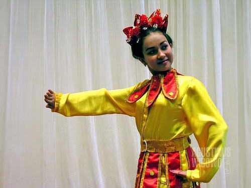 Nigina dengan tari Puspito sempat melaju ke kontes tingkat nasional. (AGUSTINUS WIBOWO)