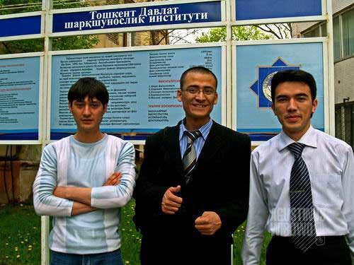 Pelajar bahasa Indonesia di Tashkent (AGUSTINUS WIBOWO)
