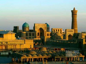 Kota kuno Bukhara. (AGUSTINUS WIBOWO)