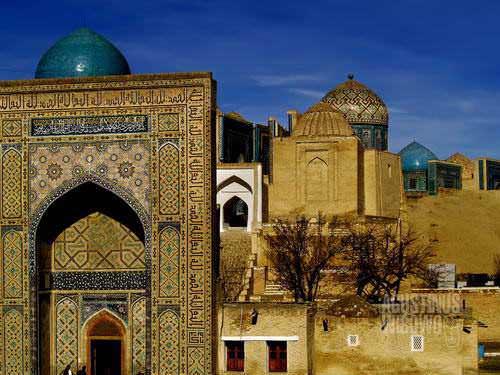 Kota kuburan Shakhr-i-Zinda (AGUSTINUS WIBOWO)