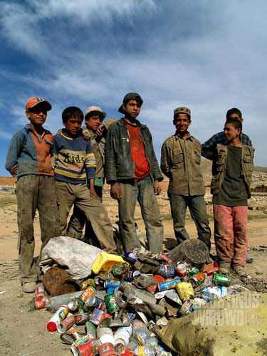 The wastepicker boys of Kabul