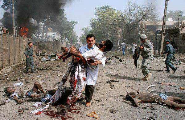 The deadly bomb blast