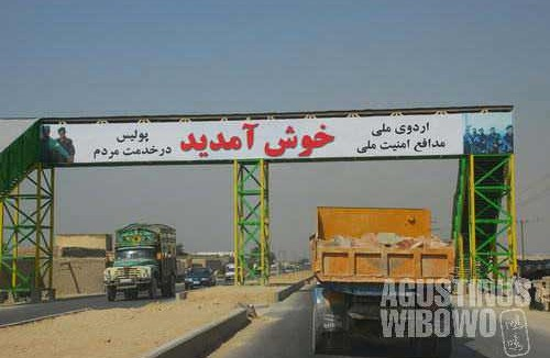 No foreigners are allowed to take this road to leave Kabul overland, due to the Korean hostage crisis