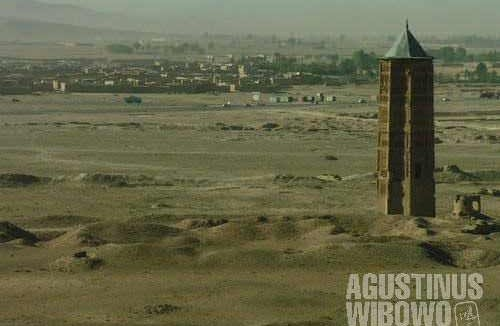 The road of Ghazni, where the incident took place
