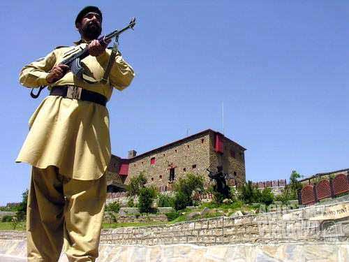 Military unit in Khyber tribal area
