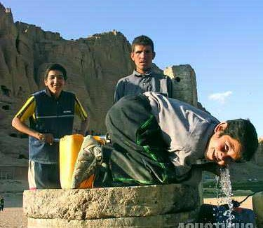 A happy day in Bamiyan