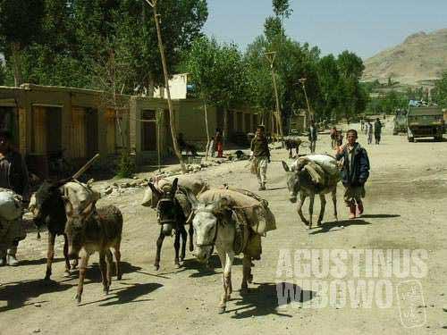 The border town of Ishkashim