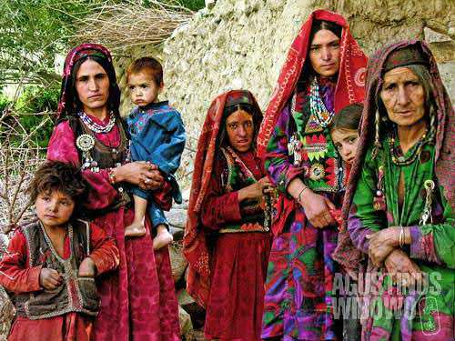 Ismaili women in Wakhan don't cover their face, and are open to male strangers