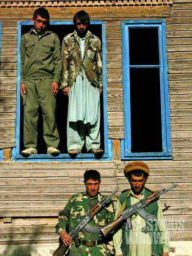 The border guards of Afghanistan