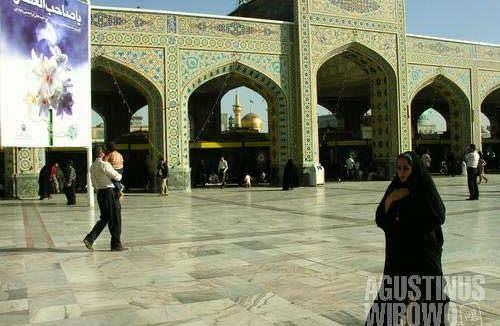 From Mashhad ...