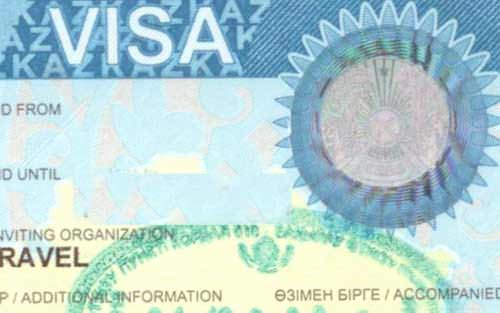 Visa of the Republic of Kazakhstan
