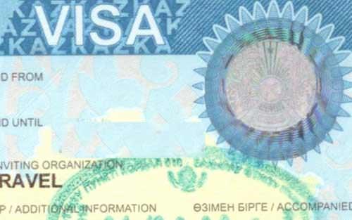 Visa of the Republic of Kazakhstan