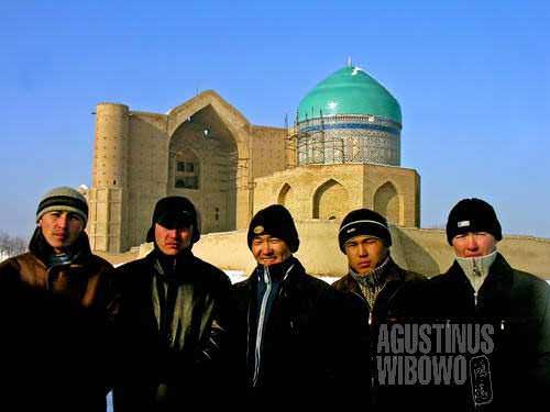 Some among the pilgrims