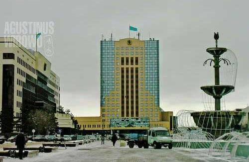 The main square of Astana