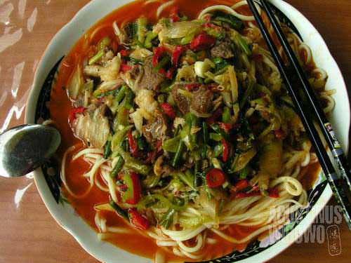 Delicious Uyghur laghman