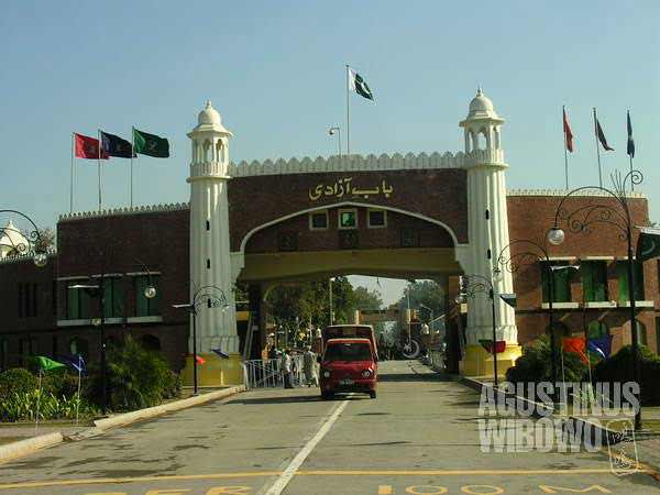 """Gate of Freedom"", the gate to Pakistan"